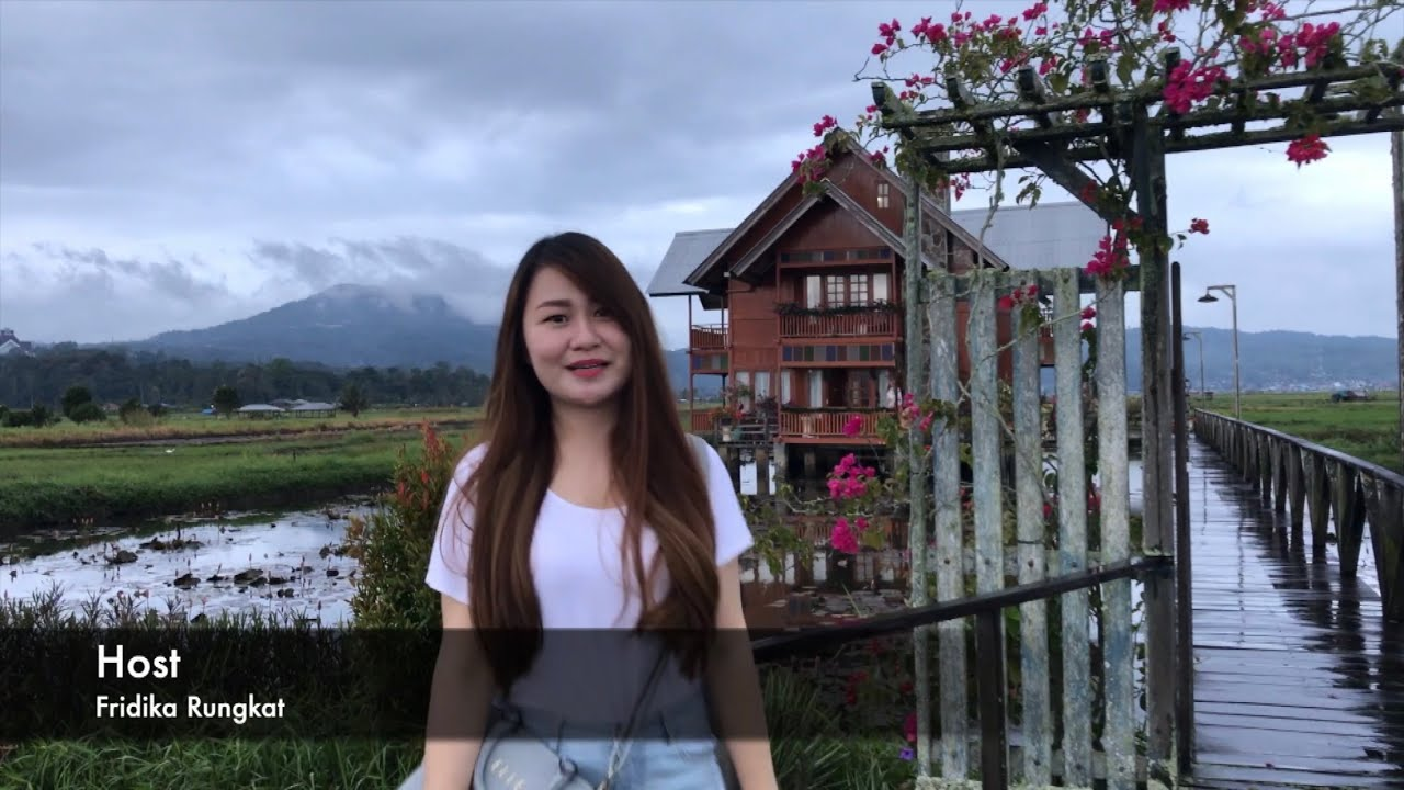 Objek wisata rumah Panggung di Tondano, Sulawesi Utara