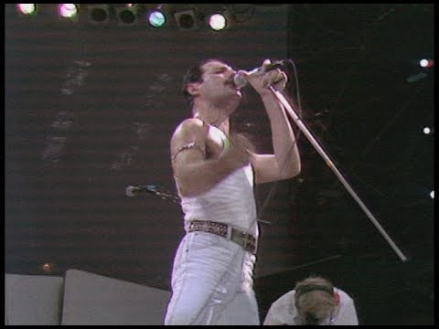 Queen   at  AID 19850713 Best Version