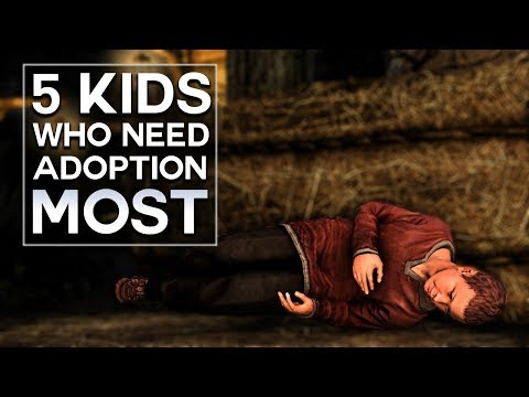 Skyrim - Top 5 Kids Who Need Adoption the Most thumbnail