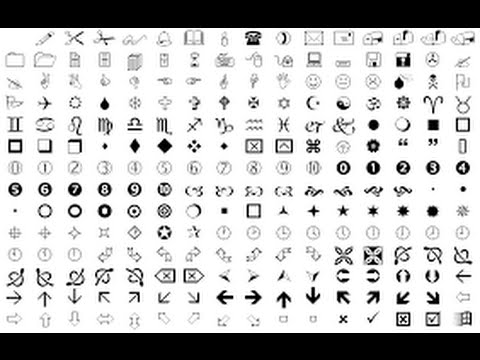 Wingdings Explained - Youtube