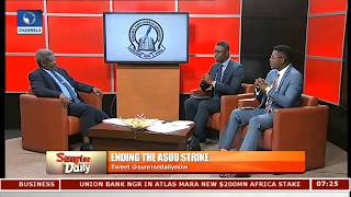 Wesley Uni VC Analyses Issues On ASUU Strike,Education Sector Pt.1 |Sunrise Daily|