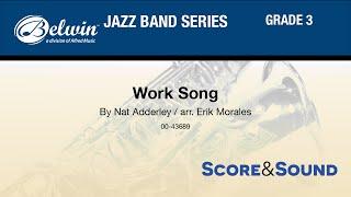 Work Song, arr. Erik Morales - Score & Sound