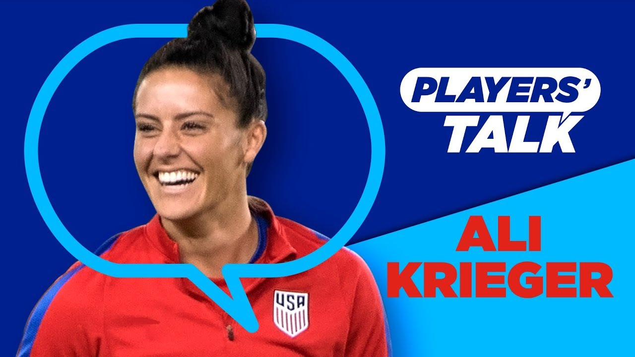 9b32d1363 Ali Krieger's hopes for her US legacy | Players Talk - YouTube