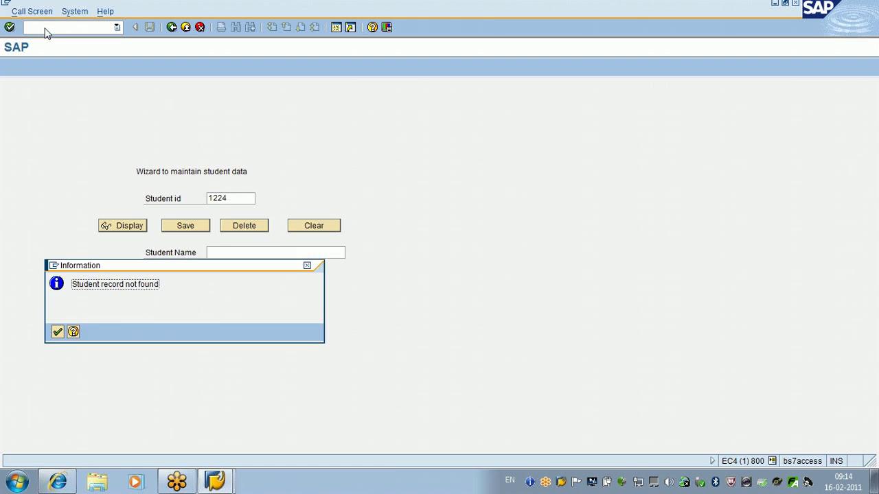 Sap Abap Advanced Certification Online Training Video Youtube