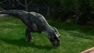 Свежий трейлер Jurassic World Evolution.