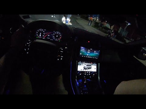 Range Rover Sport Night   4K POV Test Drive #236 Joe Black