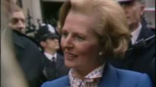 Margaret Thatcher Arrives at 10 Downing Street for the first time as Prime Minister, May 4, 1979