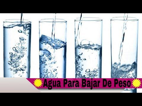 Cuanta Agua Debo Tomar Para Bajar De Peso Youtube