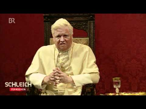 Schleich trifft Schleich: Papst Benedikt XVI.