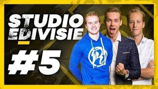 ROYALISTIQ WAS FIFA16 PRO | Studio eDivisie met Royalistiq, Frank en Milo | Speelronde 5 | Xbox
