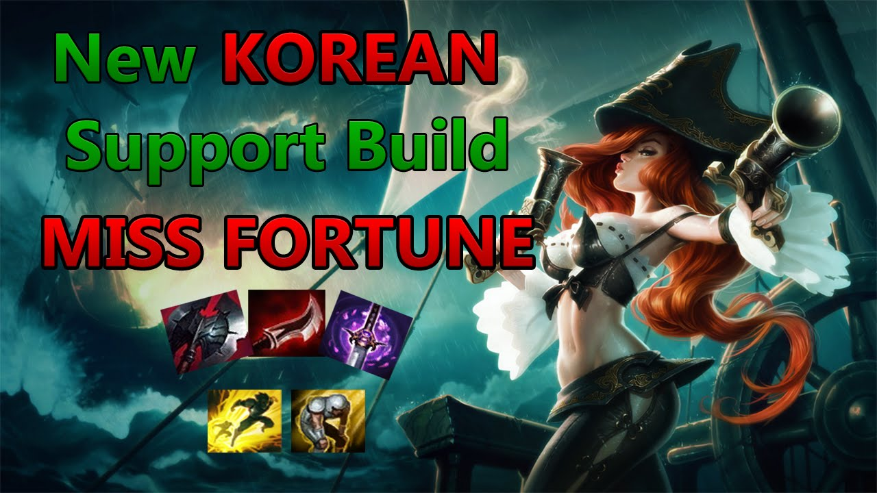 Shaco Build S7: New KOREAN Support Build MISS FORTUNE