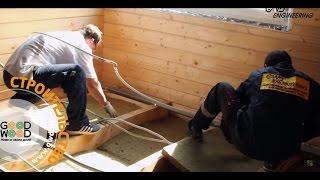 Как утепляется пол в загородном доме? Отделочные работы GWD Engineering.