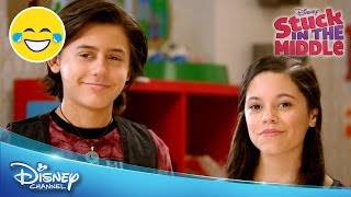 stuck in the middle   room wars   official disney channel uk
