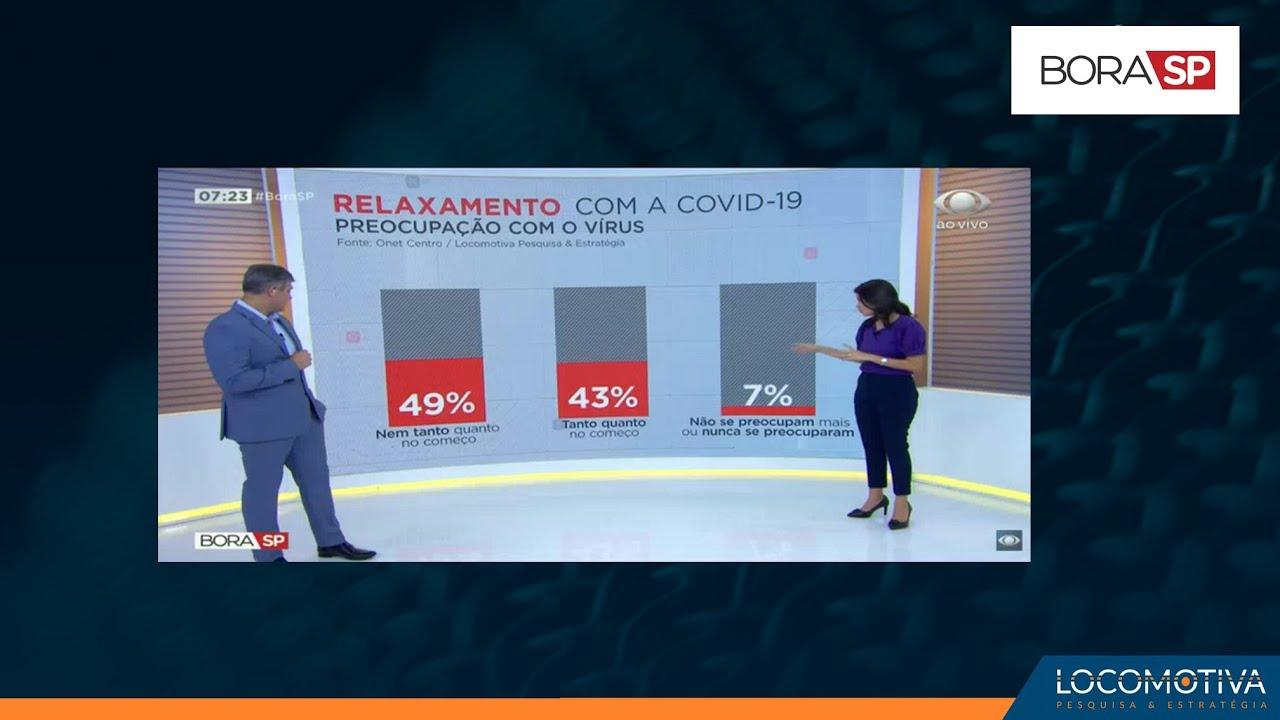 BORA SP: Pesquisa mostra como brasileiros têm reagido às medidas de restrição impostas pela pandemia