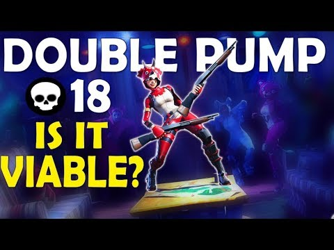 DOUBLE PUMP | IS IT STILL VIABLE? | HIGH KILL & AGGRESSIVE - (Fortnite Battle Royale)