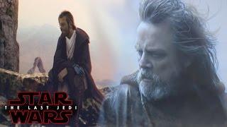 Star Wars The Last Jedi Luke Skywalker's NEW Weapon & Gear SPOILERS