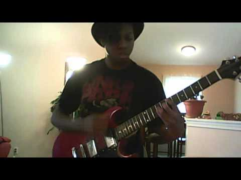 Bikini Kill Reject All Americans Guitar Cover!!!