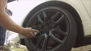 how to plastidip your rims on a scion tc