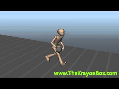 Basketball Dribble Run Cycle