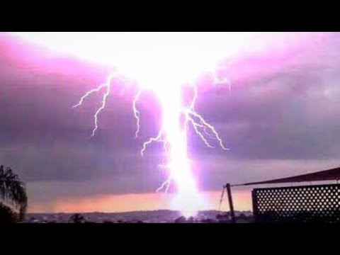 The Best Lightning Strikes Compilation 2018
