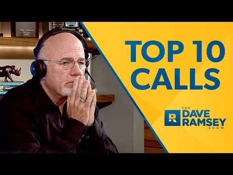 Top 10 Unbelievable Calls on The Dave Ramsey  vol. 2