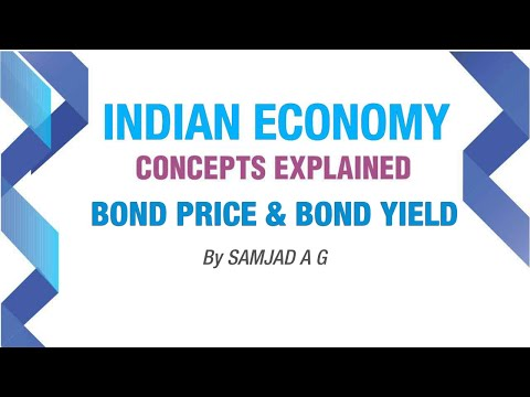 Bond Price and Bond Yield | Money and Banking Part-3 | Indian Economy |