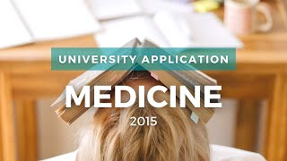 MEDICINE  - What Subjects To Pick?