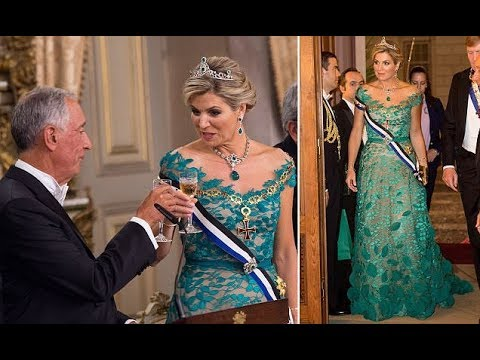 Queen Maxima and Willem Alexander in Portugal