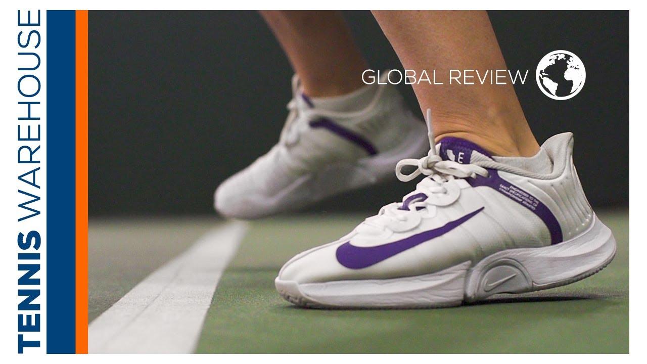 portón Esencialmente Illinois  GLOBAL: Nike Air Zoom GP Turbo Tennis Shoe Review 🌎 - YouTube