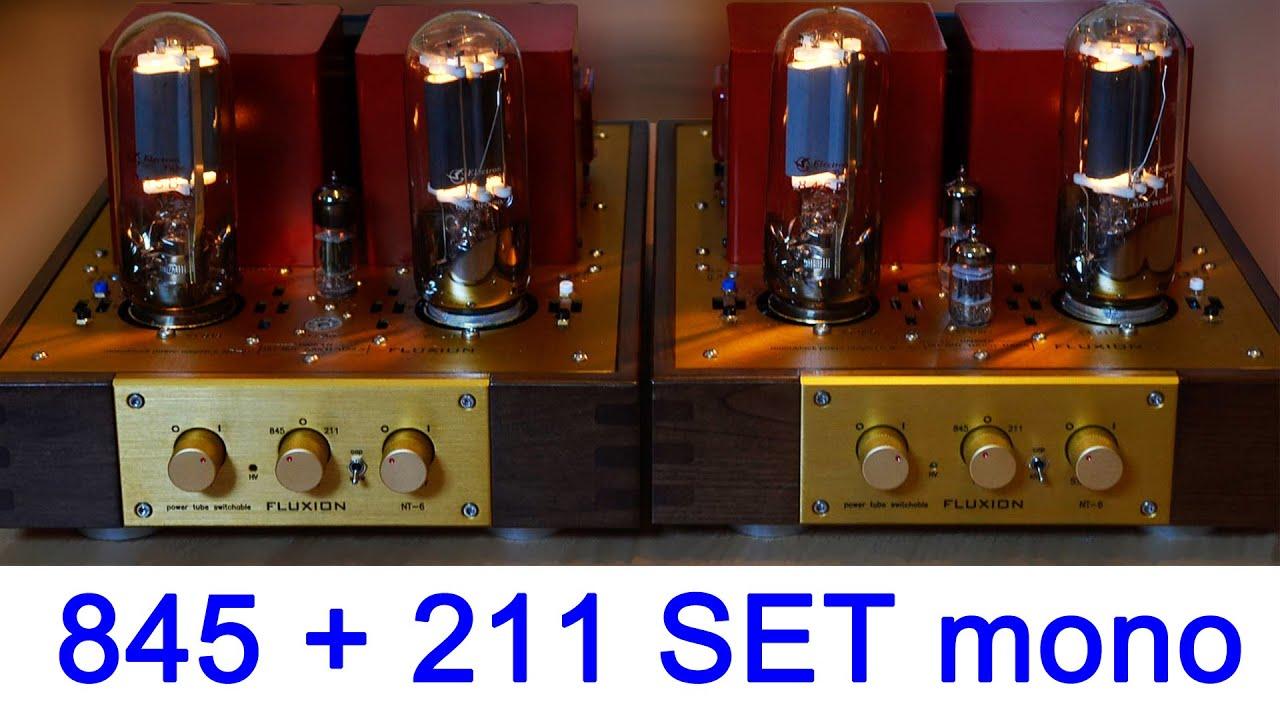 845 211 Switchable Se Monoblock Tube Amplifier Fluxion Nt