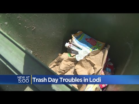 New Lodi Recycling Program Rolls Out Fines For Using Wrong Bins