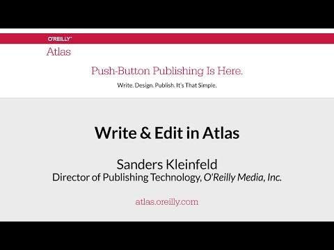 Write & Edit in Atlas