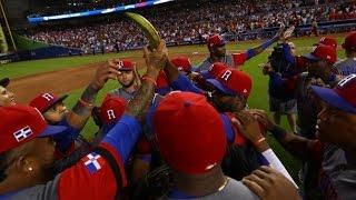 Dominicana vence a Colombia y avanza invicto en el #ClásicoMundialdeBeisbol