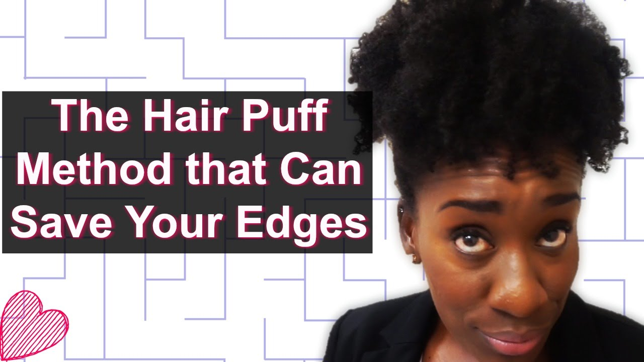 How To Do The High Puff Wo Tension High Puff On Thin Or Sensitive