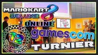 MARIO KART 8 DELUXE ONLINE Part 12: Mario Kart 8 Turnier auf der Gamescom 2017