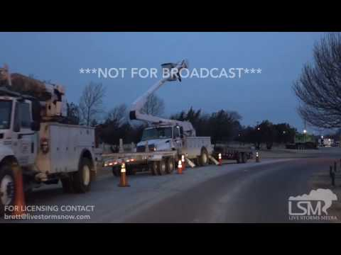 01-13-17 Electrical Crew Staging Woodward, OK Management