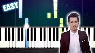 Panic! At The Disco - High Hopes - EASY Piano Tutorial by PlutaX