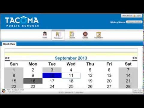Attendance In Home Access Center Hac) - YT