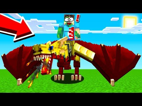 THE BIGGEST AND STRONGEST MINECRAFT DRAGON!