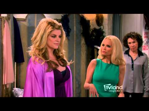 Kirstie: Maddie's Kirstie Alley Birthday Card Dilemma