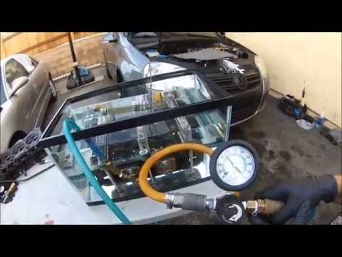 (NEWEST WAY) TO CHECK CYLINDER HEADS FOR CRACKS AT HOME W/ A HOME MADE PRESSURE TESTER