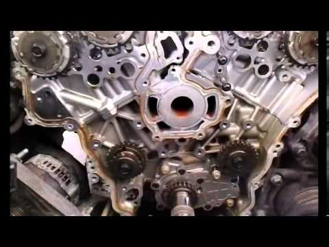 Cts 3 6l V6 Timing Chains Replacement Part 3 Youtube