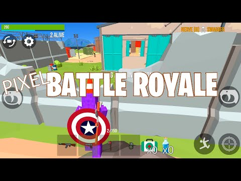 Pixel Battle Royale [ 2019 ] Fps Shooter Online Game