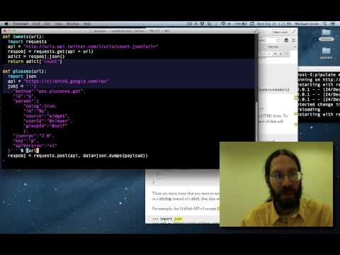 Google Plus API Python Example