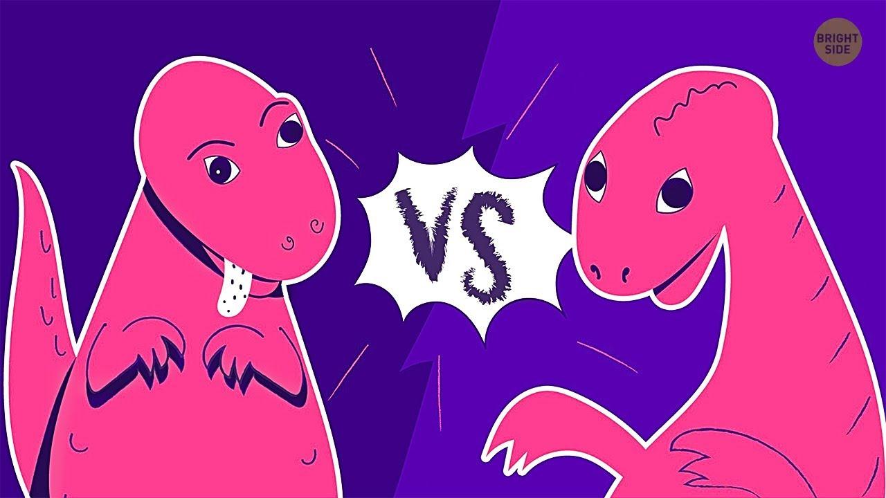 Что, если бы люди жили бок о бок с динозаврами 🦖😱