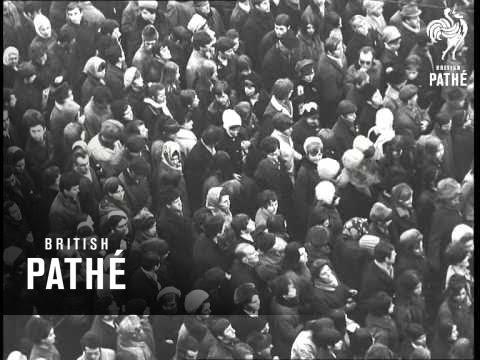 Jan Palach Funeral (1969)
