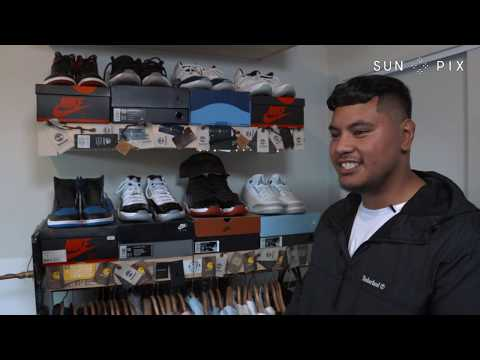 Tongan entrepreneur puts best foot forward with Sneaker Clean NZ