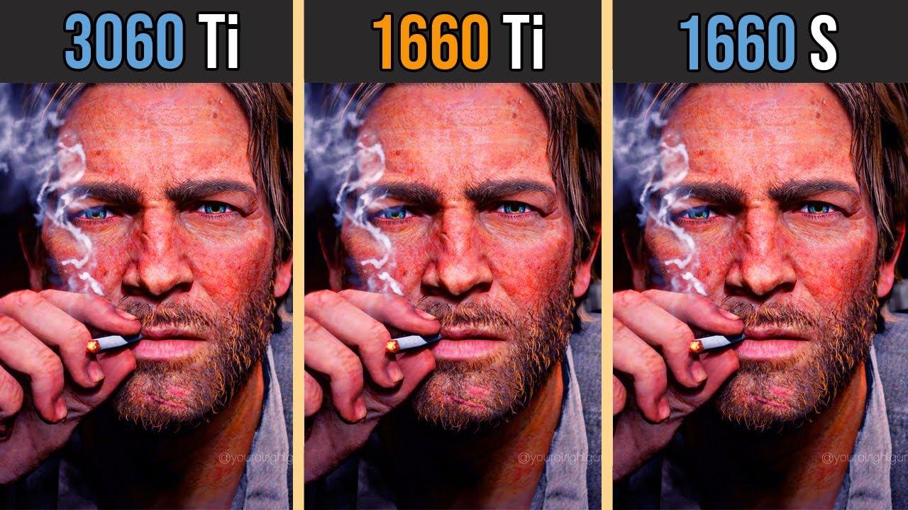 NVIDIA RTX 3060 Ti vs GTX 1660 Ti vs GTX 1660 SUPER   Test in 8 Games