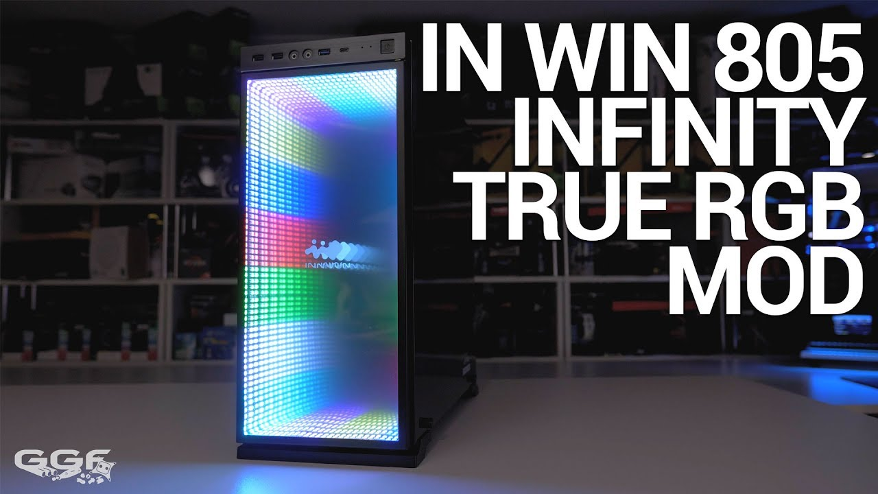 In Win 805 Infinity True Rgb Mod Youtube