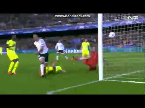 Amazing Goal Sofiane Feghouli~Valencia 1-0 Gent~